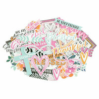 Kaisercraft - Blessed Collection - Collectables - Die Cut Cardstock Pieces