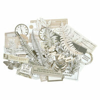 Kaisercraft - Whisper Collection - Collectables - Die Cut Cardstock Pieces