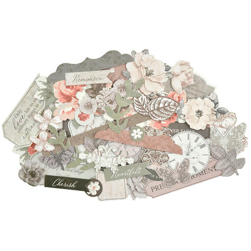 Kaisercraft - Rosabella Collection - Collectables - Die Cut Cardstock Pieces
