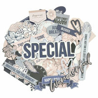 Kaisercraft - Breathe Collection - Collectables - Die Cut Cardstock Pieces