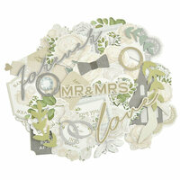 Kaisercraft - Two Souls Collection - Collectables - Die Cut Cardstock Pieces