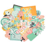Kaisercraft - Paisley Days Collection - Collectables - Die Cut Cardstock Pieces