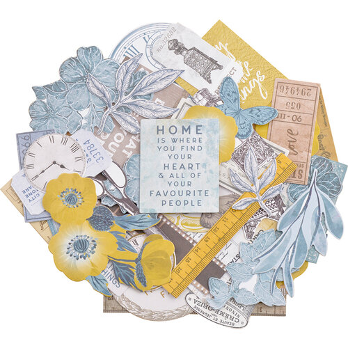 Kaisercraft - Antiquities Collection - Collectables - Die Cut Cardstock Pieces