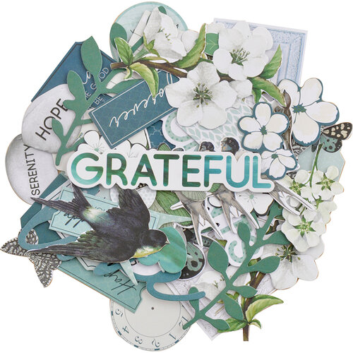 Kaisercraft - Morning Dew Collection - Collectables - Die Cut Cardstock Pieces