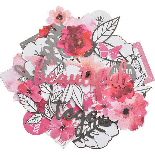 Kaisercraft - Magenta Collection - Collectables - Die Cut Cardstock Pieces