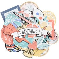 Kaisercraft - Crafternoon Collection - Collectables - Die Cut Cardstock Pieces