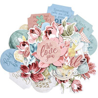 Kaisercraft - Little Treasures Collection - Collectables - Die Cut Cardstock Pieces