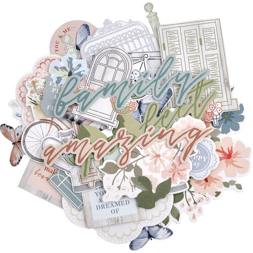 Kaisercraft - Flower Shoppe Collection - Collectables - Die-Cut Cardstock Pieces