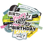 Kaisercraft - Sunkissed Collection - Collectables - Die Cut Cardstock Pieces - Sentiments