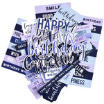 Kaisercraft - Amethyst Collection - Collectables - Die Cut Cardstock Pieces - Sentiments