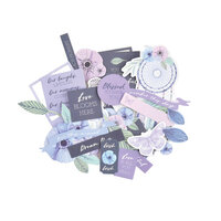 Kaisercraft - Lilac Mist Collection - Collectables - Die-Cut Cardstock Pieces