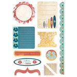 Kaisercraft - Seaside Collection - Die Cuts - Elements