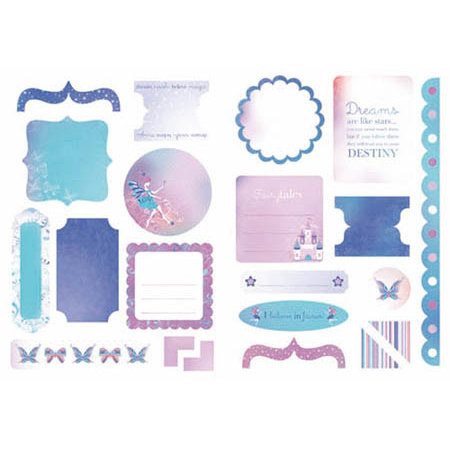 Kaisercraft - Magic Happens Collection - Die Cuts - Elements
