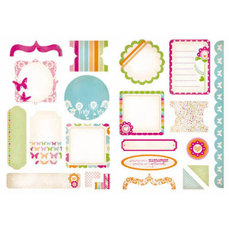 Kaisercraft - Bubblegum Hills Collection - Die Cuts - Elements