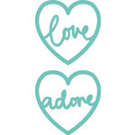 Kaisercraft - Decorative Dies - Love Hearts