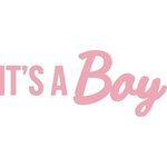 Kaisercraft - Decorative Dies - Words - It's a Boy