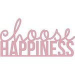 Kaisercraft - Decorative Dies - Words - Choose Happiness