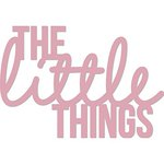 Kaisercraft - Decorative Dies - Words - The Little Things