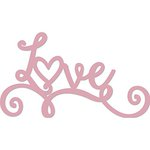 Kaisercraft - Decorative Dies - Words - Love