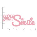 Kaisercraft - Decorative Dies - Words You Make me Smile