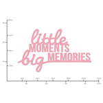 Kaisercraft - Decorative Dies - Words Little Moments