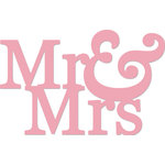 Kaisercraft - Decorative Dies - Mr and Mrs Words