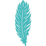 Kaisercraft - Decorative Dies - Detailed Feather
