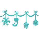 Kaisercraft - Christmas - Decorative Dies - Ornament Garland