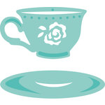 Kaisercraft - Decorative Dies - Cup and Saucer