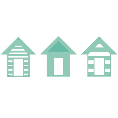 Kaisercraft - Decorative Die - Beach Houses