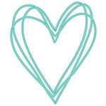 Kaisercraft - Decorative Die - Sketched Heart