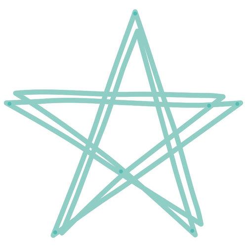 Kaisercraft - Decorative Dies - Scribble Star