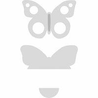 Kaisercraft - Decorative Dies - Card Creations - Butterfly