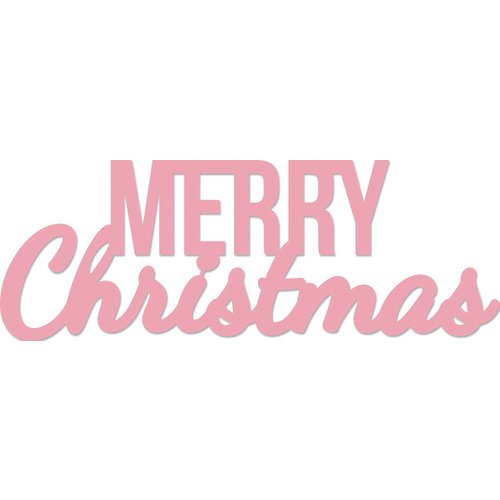 Kaisercraft Words Merry Christmas Decorative Dies