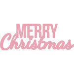 Kaisercraft - Decorative Dies - Words Merry Christmas