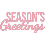 Kaisercraft - Decorative Dies - Words - Seasons Greetings