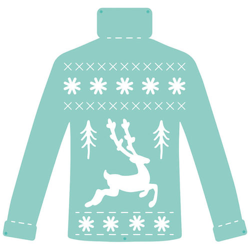 Kaisercraft - Decorative Dies - Christmas Knit