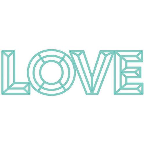 Kaisercraft - Decorative Dies - Geo Love Word