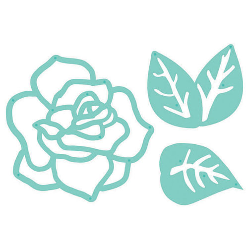 Kaisercraft - Decorative Dies - Rose and Leaves