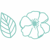 Kaisercraft - Decorative Dies - Flower and Leaf Outline