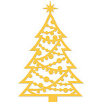 Kaisercraft - Christmas - Decorative Dies - Decorated Christmas Tree