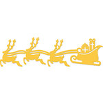 Kaisercraft - Decorative Dies - Sleigh and Reindeer