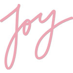 Kaisercraft - Christmas - Decorative Dies - Words - Joy