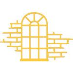 Kaisercraft - Christmas - Decorative Dies - Arched Window