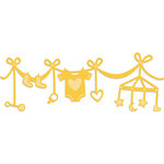 Kaisercraft - Decorative Dies - Baby Garland