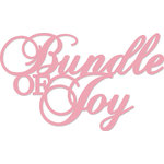 Kaisercraft - Decorative Dies - Words - Bundle of Joy