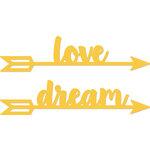 Kaisercraft - Decorative Dies - Love Dream Arrows