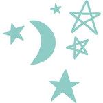 Kaisercraft - Decorative Dies - Moon Stars