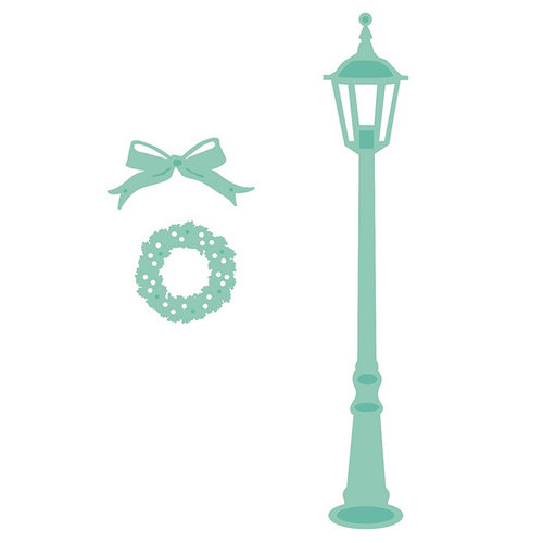 Kaisercraft - Christmas Edition Collection - Decorative Die - Lamp Post Christmas