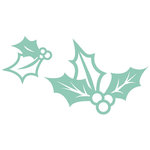 Kaisercraft - Christmas Edition Collection - Decorative Die - Holly 2